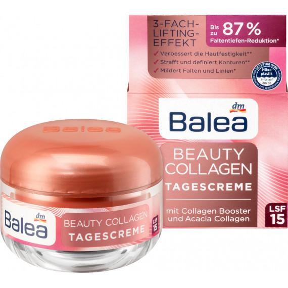 Денний крем Beauty Collagen з колагеном Booster та акацієвим колагеном Balea, 50 мл (Німеччина) -