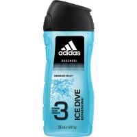 Гель для душа мужской Ice Dive adidas, 250 мл (Германия)