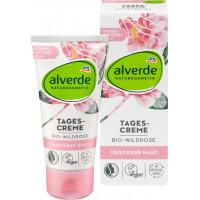 Дневной крем Органическая дикая роза alverde, 50 ml (Германия)