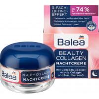 Ночной крем для красоты с коллагеном и усилителем коллагена Balea, 50 мл (Германия)