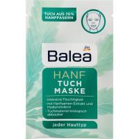 Тканевая маска Конопля Balea, 1 шт (Германия)