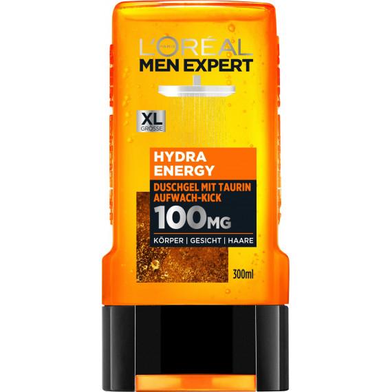 Гель для душу Hydra Energy L'ORÉAL Men Expert 300 мл (Німеччина) -