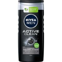 Гель для душа NIVEA MEN Active Clean, 250 мл. (Германия)