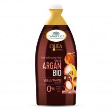 Гель для душа бархатное органическое аргановое масло L'angelica, 500 мл (Германия)