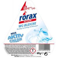 Отбеливатель для туалета RORAX, 60 г (Германия)