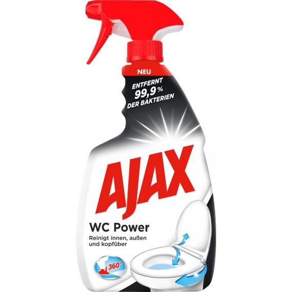 Средство для чистки унитаза, спрей AJAX 750 мл (Германия) -