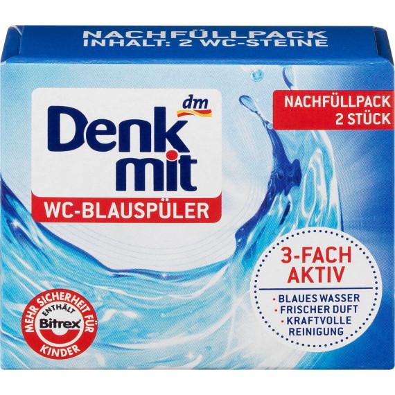 Блок в туалет запаски Denkmit, 80 г (Германия) -