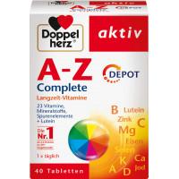 Таблетки A-Z Depot Doppelherz 40 штук, 59,6 г (Германия)