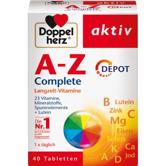 Таблетки A-Z Depot Doppelherz 40 штук, 59,6 г (Германия) -