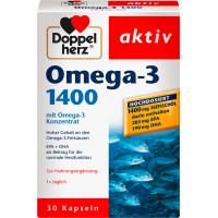 Омега-3 1400 капсулы Doppelherz 30 штук, 59,2 г (Германия)