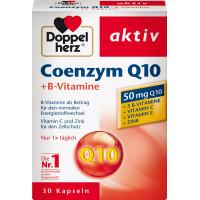 Коэнзим Q 10 + витамины группы В капсулы 30 штук Doppelherz, 12,5 г (Германия)
