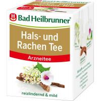 Чай лечебный, для горла Bad Heilbrunner (8 х 1,75 г), 14 г (Германия)