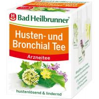 Лікарський чай, чай від кашлю та бронхів Bad Heilbrunner (8 х 2 г), 16 г. (Німеччина)