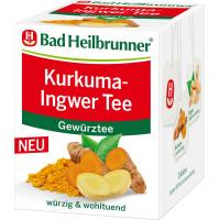 Чай из куркумы и имбиря Bad Heilbrunner, 8 г. (Германия)
