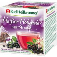 Фруктовий чай, гаряча бузина з аронією Bad Heilbrunner (15 х 2,5 г), 37,5 г. (Німеччина)
