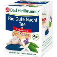 Трав'яний чай, чай для спокійної ночі для дітей Bad Heilbrunner (8х1,75г), 14 г. (Німеччина)