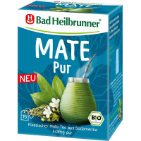 Чай органічний мате чистий Bad Heilbrunner (15 х 1,8 г), 27 г. (Німеччина)