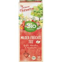 Фруктовий чай М'які фрукти dmBio (20 х 2,5 г) 50 г (Німеччина)