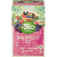 Фруктовый чай лесные фрукты dmBio (20 х 2,5 г) 50 г (Германия)