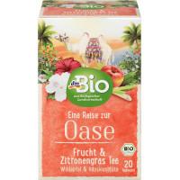 Чай из фруктов и трав, фрукты и лимонник dmBio (20 х 2,5 г), 50 г (Германия)