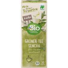 Сенча зеленый чай Naturand dmBio (20 х 1,5 г) 30 г (Германия)
