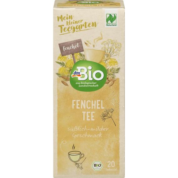 Травяной чай, чай из фенхеля, Naturland dmBio, (20 х 2 г), 40 г (Германия) -