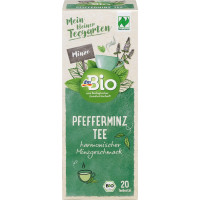 Травяной чай, мята перечная Naturland dmBio (20 х 1,5 г) 30 г (Германия)