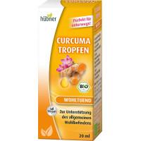 Капли куркумы Hübner, 20 мл (Германия)