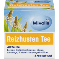 Чай лекарственный, чай от сухого кашля Mivolis (12 х 1,4 г), 16,8 г (Германия)