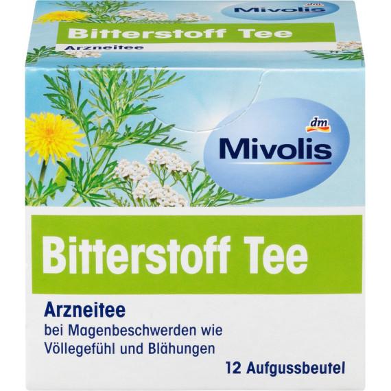 Горький чай Mivolis (12 х 1,75 г), 21 г (Германия) -
