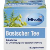 Трав'яний чай, Лужний чай Mivolis (12 х 1,8 г), 21,6 г. (Німеччина)