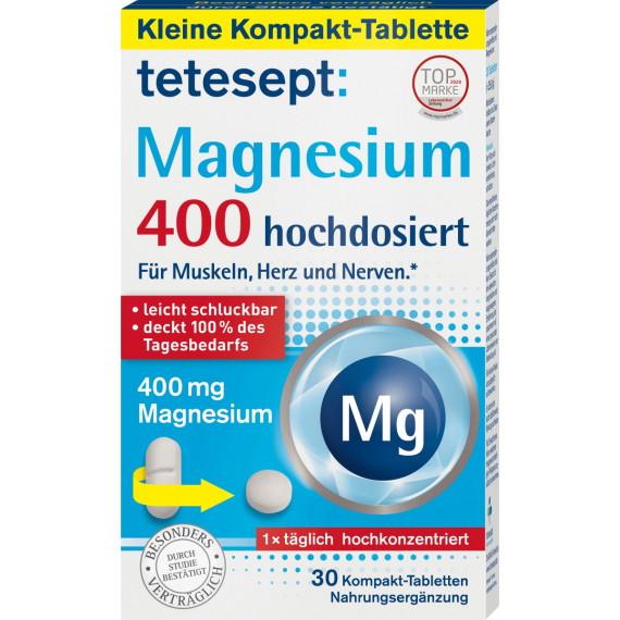 Магній 400  30 таблеток tetesept, 25,8 г (Німеччина) -
