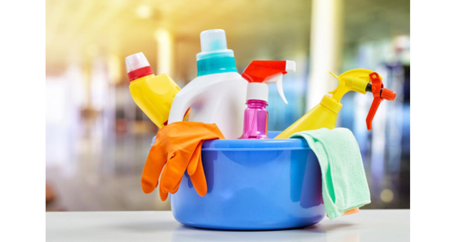4 простых шага уборки ванной комнаты