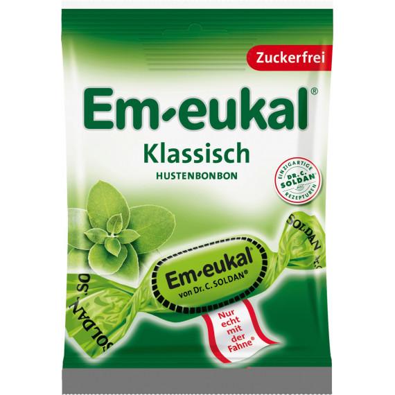 Конфеты, Классические, без сахара Em-eukal, 75 g (Германия) -