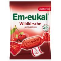 Конфеты Вишня, без сахара Em-eukal, 75 g (Германия)