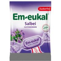 Конфеты, Шалфей, без сахара Em-eukal, 75 g (Германия)