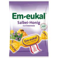 Конфеты, Шалфей-Мед Em-eukal, 75 g (Германия)