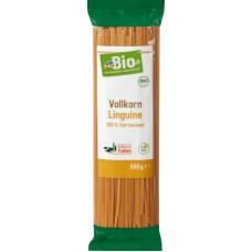 Макаронные изделия, Лингвини с пшеницы, цельнозерновые dmBio, 500 g