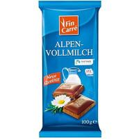 Шоколад молочный FIN CARRÉ, 100 g (Германия)