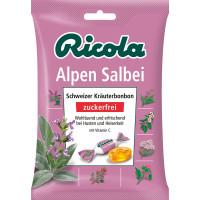 Конфеты, Альпийский шалфей, без сахара Ricola, 75 г. (Германия)