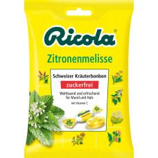 Конфеты, Лимон и Мелисса, без сахара Ricola, 75 г. (Германия)