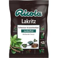 Конфеты, лакрица, без сахара Ricola, 75 г. (Германия)