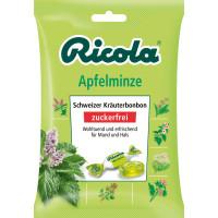 Конфеты, Яблочная мята, без сахара Ricola, 75 г. (Германия)