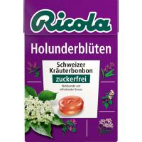 Конфеты бузина, без сахара Ricola, 50 г (Германия)