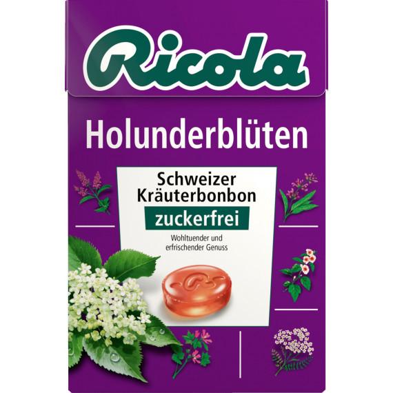 Конфеты бузина, без сахара Ricola, 50 г (Германия) -