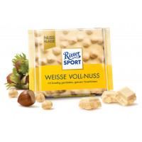 Шоколад Белый Грецкий орех Ritter sport, 100 g (Германия)