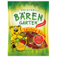 Желейные конфеты легкие медведи, без сахара, Bärengarten, 150 g (Германия)