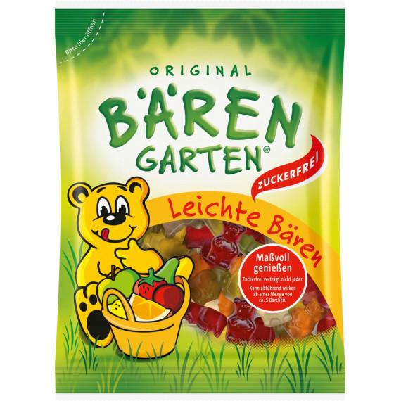 Желейные конфеты легкие медведи, без сахара, Bärengarten, 150 g (Германия) -