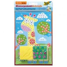 Мозаика для ремесла Жираф Folia, 405 шт. (Германия)