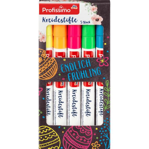 Меловые маркеры Profissimo, 5 St (Германия) -